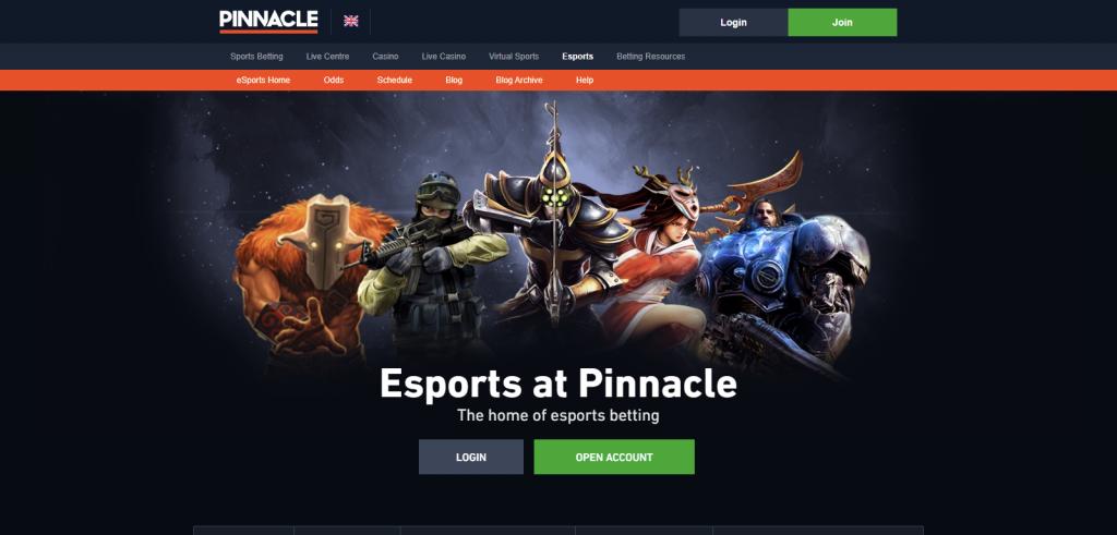 pinnacle betting site